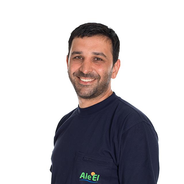 David Einbeigi på Ale El